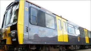 New look Metro train