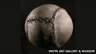 World's oldest football/Pic: Smith Art Gallery & Museum