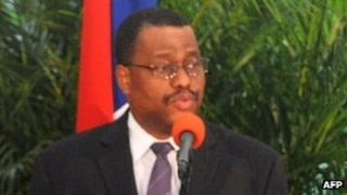 Haitian Prime Minister Garry Conille. Photo: 18 October 2011