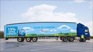 Wincanton's long lorry