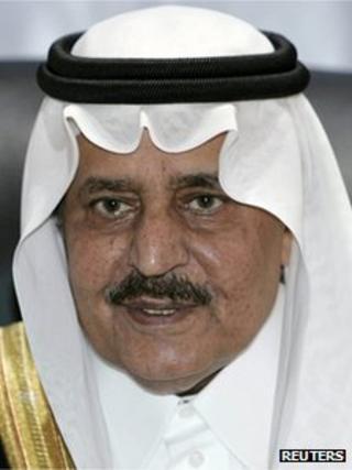 Saudi Interior Minister Prince Nayef bin Abdul Aziz al Saud, 2006