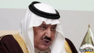 Prince Nayef bin Abdulaziz al Saud