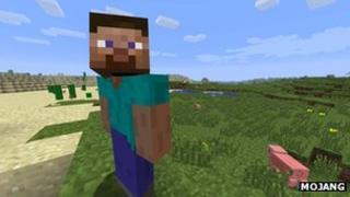 Mojang's Minecraft videogame