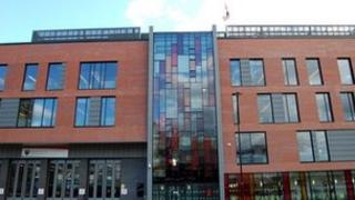 South Yorkshire Fire and Rescue HQ in Sheffield