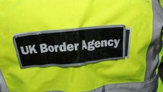 A UK Border Agency official