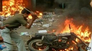 Rioting in Gujarat in 2002
