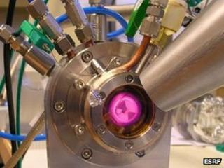 X-ray absorption spectroscopy setup (ESRF)