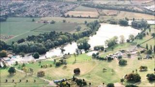 Wicksteed lake as it is now