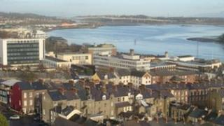 View of Derry and Foyle