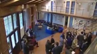 Feltham Offenders Unit interior