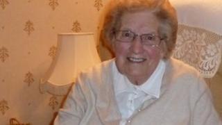 Eileen Milton, former squatter in Bristol