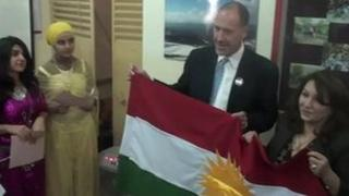 Geoff Barton in Iraq