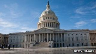 The US Capitol is seen on November 19, 2011 in Washington, DC.