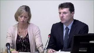 Kate and Gerry McCann at the Leveson Inquiry