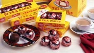 Tunnocks tea cake selection