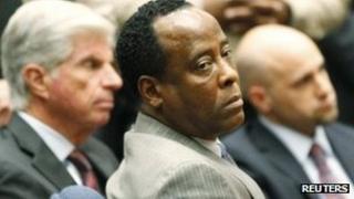 Conrad Murray in court 7 November 2011
