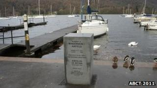 Windermere memorial