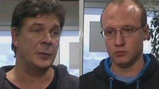 Vitaliy Karpenko and Roman Savin
