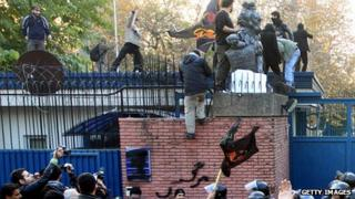 UK embassy stormed. 29 Nov 2011