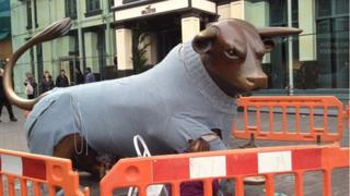 Bullring statue