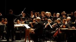 New York City Opera Orchestra and Women's Chorus (c) Carol Rosegg