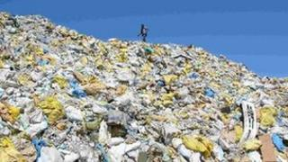 File photo of rubbish on Thilafushi