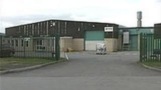 Jeyes factory in Mold, Flintshire