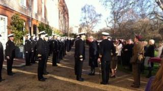 Clarence House medals ceremony 9 December 2011