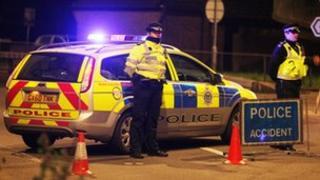 Police on A27 (Eddie Mitchell)