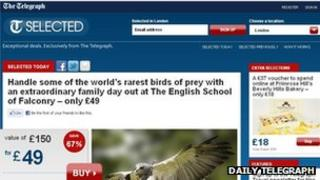 Daily Telegraph Selected screenshot
