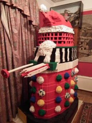 Lego Dalek Santa
