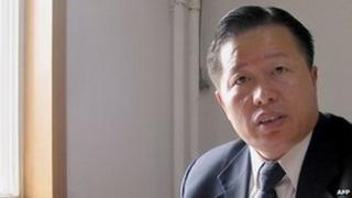 Gao Zhisheng at his Beijing office