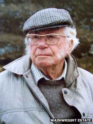 Alfred Wainwright. Photo: The Wainwright Estate