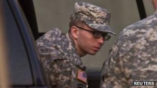 Private Bradley Manning 19 December 2011