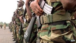 Senegalese army (file photo)