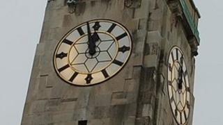 Civic Centre clock tower