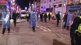 Leicestershire Police in Leicester city centre