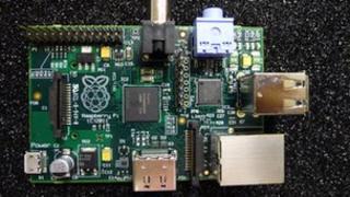 Raspberry Pi circuit board
