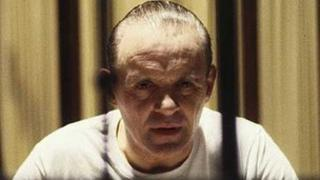 Sir Anthony Hopkins as Hannibal Lecter in The Silence of the Lambs