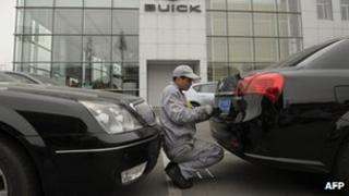 General Motors dealership in Shanghai