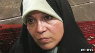 Faezeh Hashemi Rafsanjani - file image from 2009