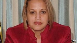 Venezuela's consul to Miami, Livia Acosta Noguera (file image)