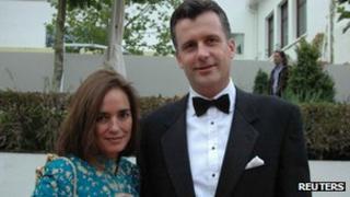 Kashya and Philipp Hildebrand (file photo)