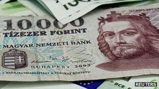 Hungarian banknote - 10,000 forints