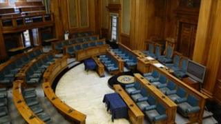 Nottingham council chamber