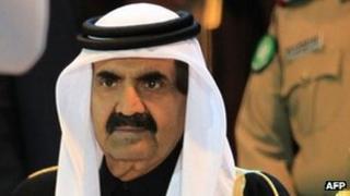 The Emir of Qatar, Sheikh Hamad Bin Khalifa Al Thani (December 2011)