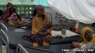 An MSF clinic in Somalia (Copyright Yann Libessart/MSF)
