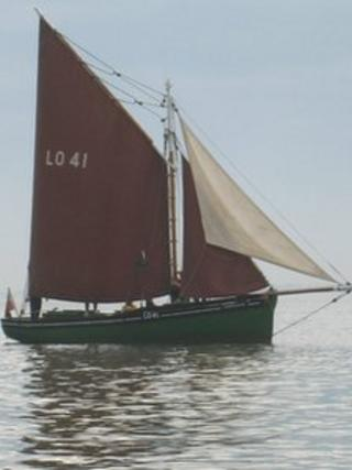 The Endeavour cockle ship