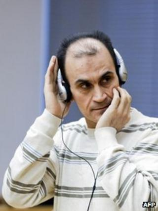 Shawan Sadek Saeed Bujak in court in Oslo (30 Jan 2012)
