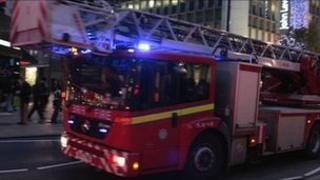 London Fire engine